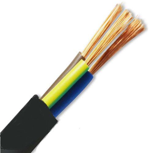 Copper Core PVC Insulated Sheath Soft Cable Wire RVV